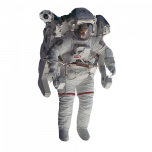 Sticker astronaut 2